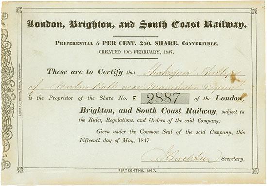 London, Brighton, and South Coast Railway