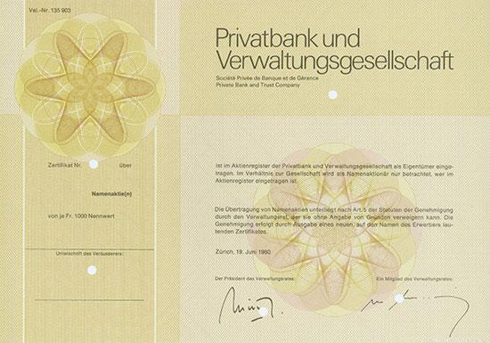 Privatbank und Verwaltungsgesellschaft