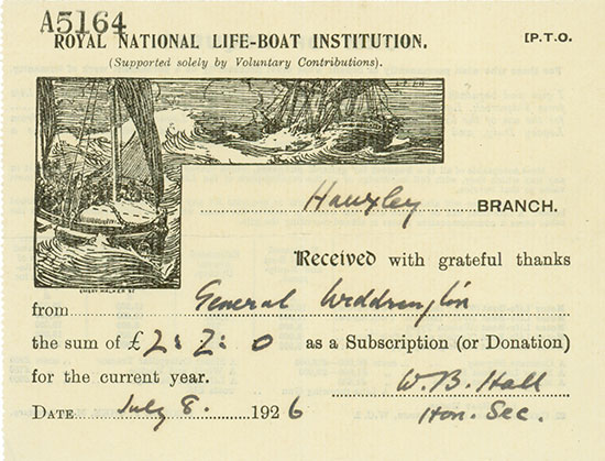Royal National Life-Boat Institution - Hauxley Branch