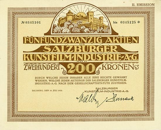 Salzburger Kunstfilm-Industrie-AG