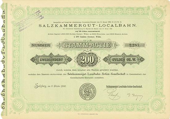 Salzkammergut-Localbahn-AG