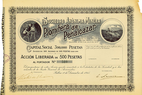 Sociedad Anónima Minera Plomífera de Peñalcázar