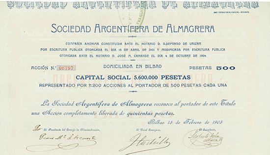 Sociedad Argentifera de Almagrera