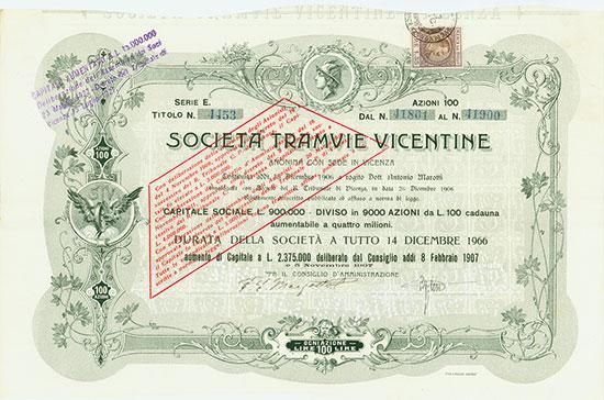 Societá Tramvie Vicentine