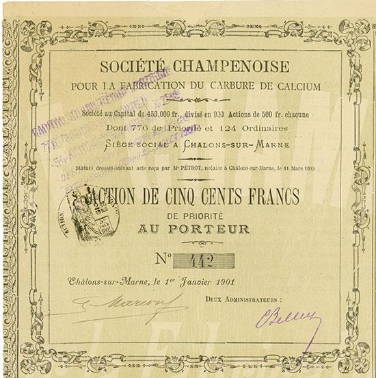 Société Champenoise pour la Fabrication du Carbure de Calcium