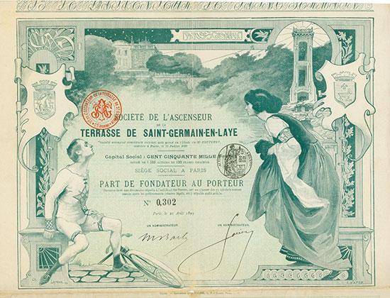 Société de L'Ascenseur de la Terrasse de Saint-Germain-en-Laye