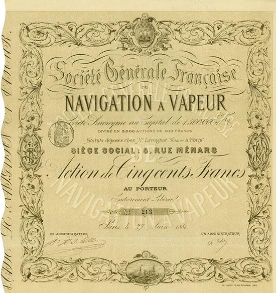 Société Générale Francaise de Navigation a Vapeur