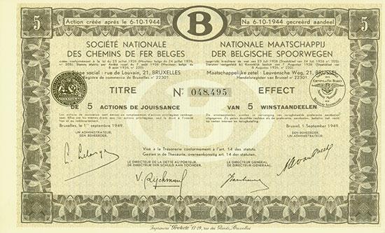 Société Nationale des Chemins de fer Belges / Nationale Maatschappij der Belgische Spoorwegen
