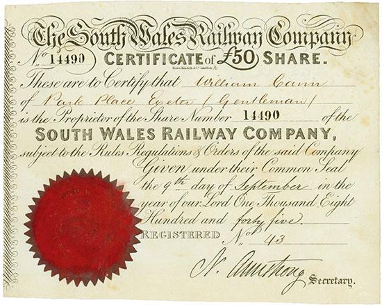 South Wales Railway Company
