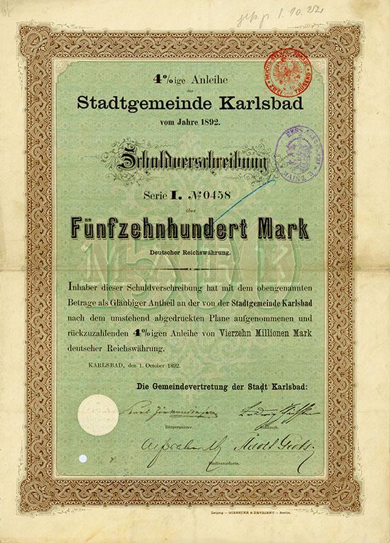Stadtgemeinde Karlsbad