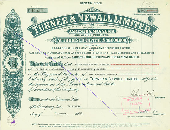 Turner & Newall Limited