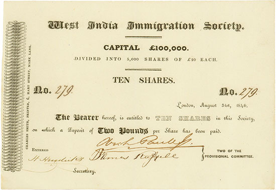 West India Immigration Society
