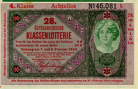 28. Österreichische Klassenlotterie