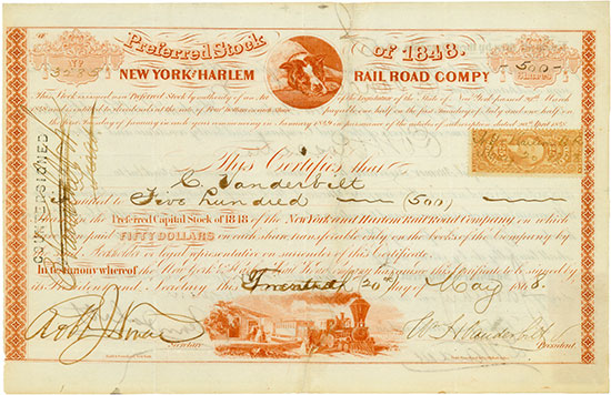New York and Harlem Rail Road Company