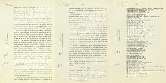 Republica de Cuba - Fidel Castro