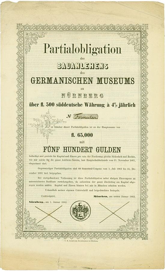 Germanisches Museum zu Nürnberg