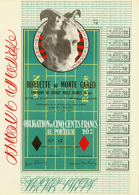 Roulette de Monte Carlo - XXe Siècle