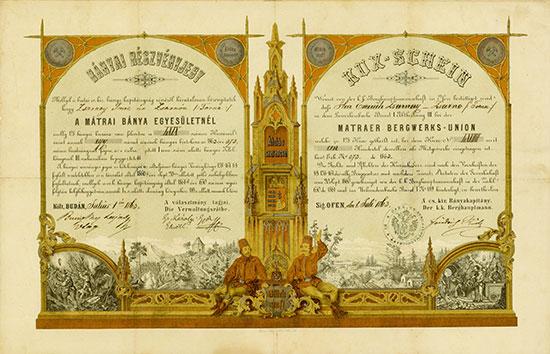 Matraer Bergwerks-Union / Mátrai Bánya Egyesületnél