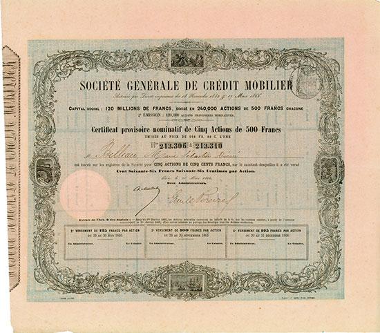 Société Générale de Crédit Mobilier