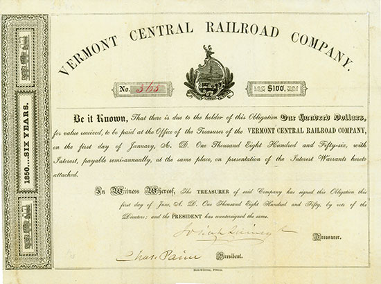 Vermont Central Railroad Company