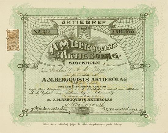 A. M. Bergqvists Aktiebolag