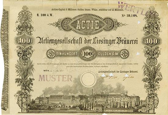 Actiengesellschaft der Liesinger Bräuerei