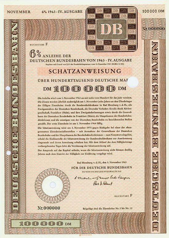 Deutsche Bundesbahn [222 Stück]