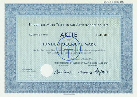 Friedrich Merk Telefonbau AG