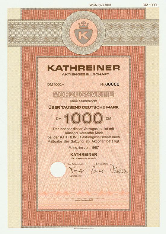 Kathreiner AG