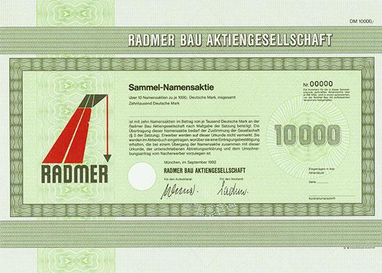 Radmer Bau AG
