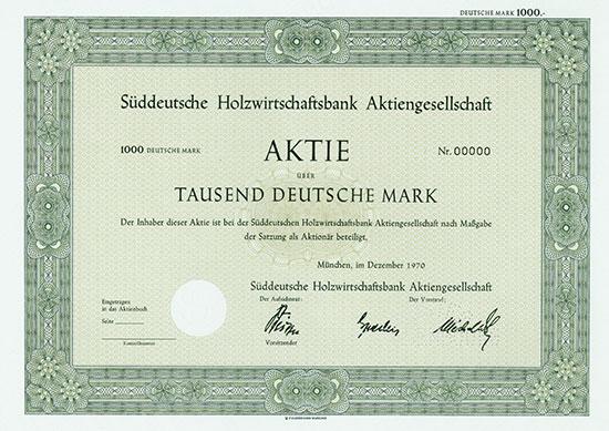 Süddeutsche Holzwirtschaftsbank AG