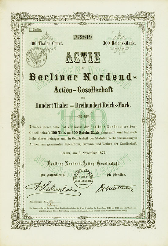 Berliner Nordend-AG