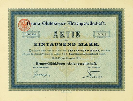 Bruno-Glühkörper-Aktiengesellschaft