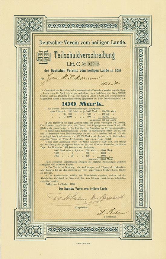 Deutscher Verein vom heiligen Lande