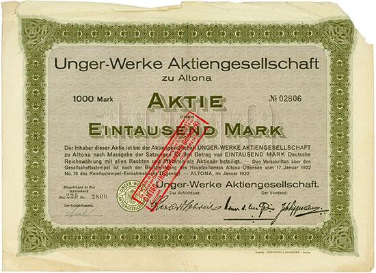 Unger-Werke AG