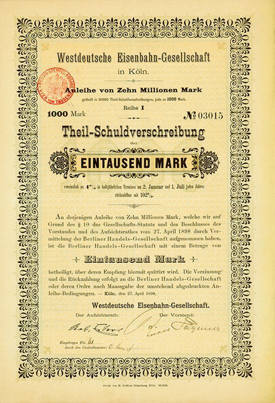 Westdeutsche Eisenbahn-Gesellschaft
