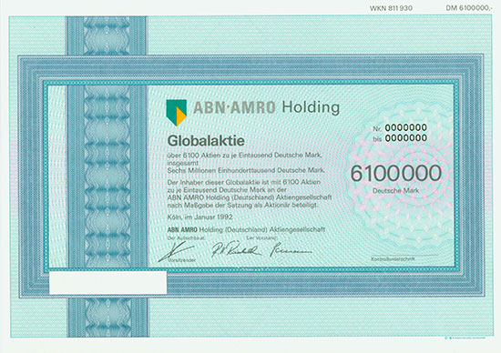 ABN Amro Holding (Deutschland) AG