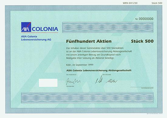 AXA Colonia Lebensversicherung AG