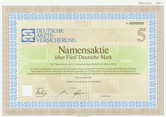 Deutsche Ärzte-Versicherung AG