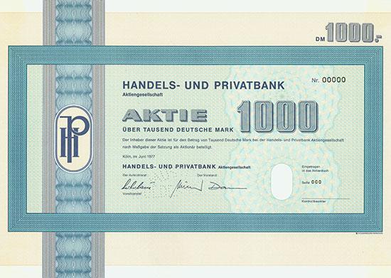 Handels- und Privatbank AG