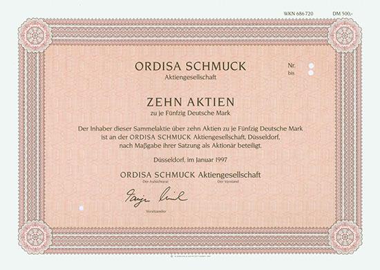Ordisa Schmuck AG