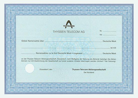 Thyssen Telecom AG