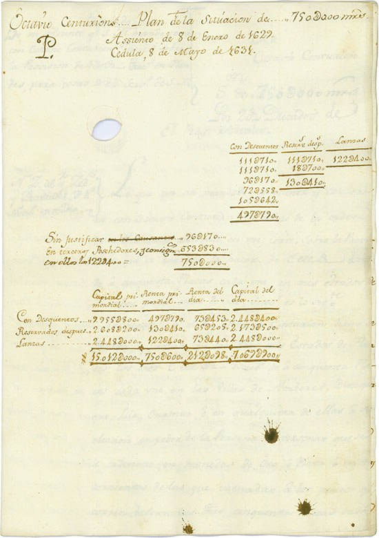 Octavio Centurion - Royal Loan Report regarding the war in Flanders