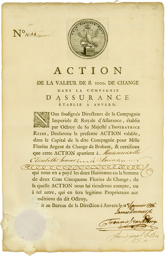 Compagnie Impériale et Royale d'Assurance d'Anvers