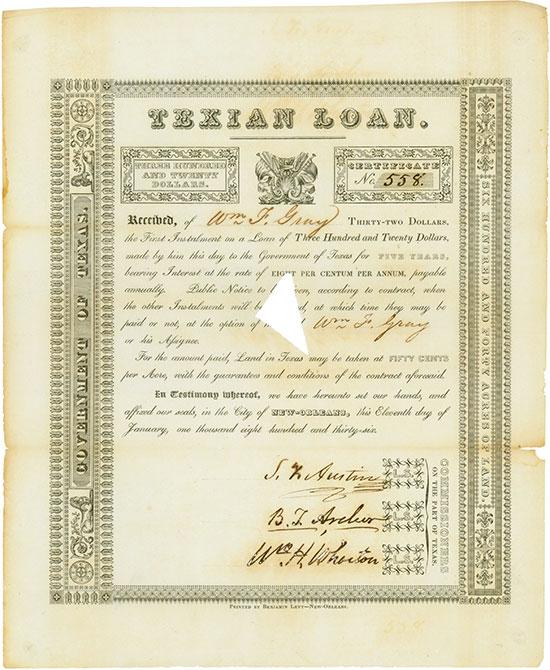 Texian Loan