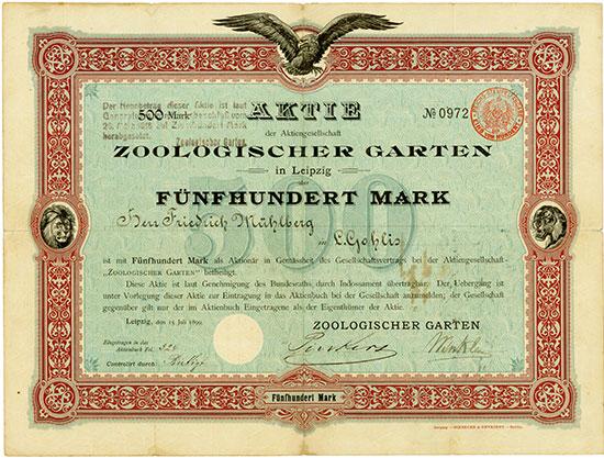 Zoologischer Garten in Leipzig