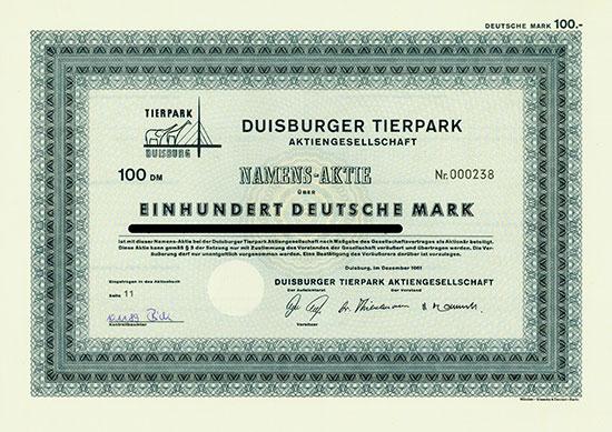 Duisburger Tierpark AG