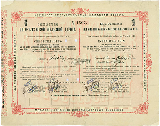 Riga-Tuckumer Eisenbahn-Gesellschaft