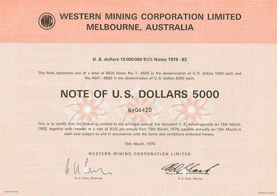 Western Mining Corporation Limited