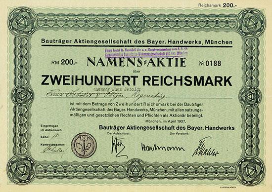 Bauträger Aktiengesellschaft des Bayer. Handwerks